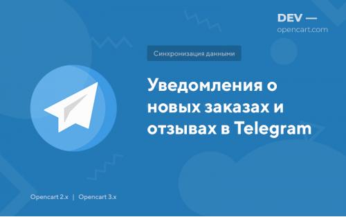 Уведомления о новых заказах и отзывах в Telegram
