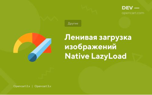Ленивая загрузка изображений Native LazyLoad