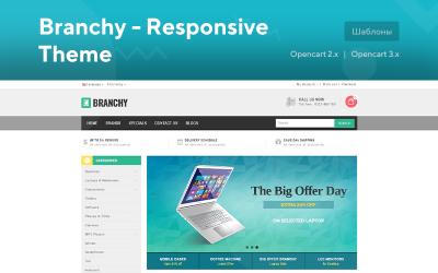 Branchy - Responsive Theme